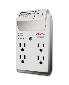APC Power-Saving Timer Essential SurgeArrest 4 Outlet Wall