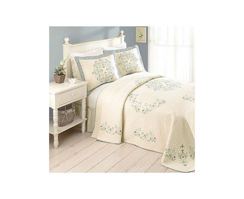 Addie 100% Cotton Quilted Bedspread King