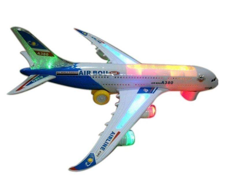 Air Bus A830 Flash Music Plane with lights