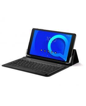 Alcatel 1T-10 Tablet with Typecase bluetooth keyboard and protective case