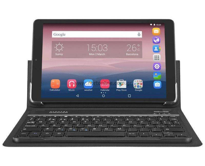 Alcatel One Touch Volcano Black Pixi 3 (10) 16GB Wi-Fi Tablet + Bluetooth Keyboard