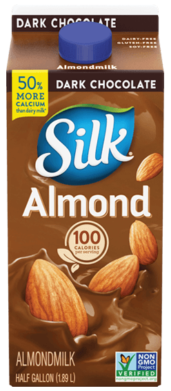Silk Almond Dark Chocolate, 64oz