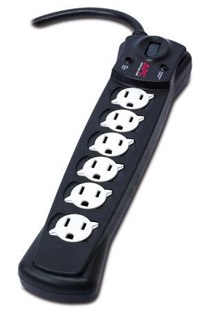 APC SurgeArrest 6 Outlet Surge Protector
