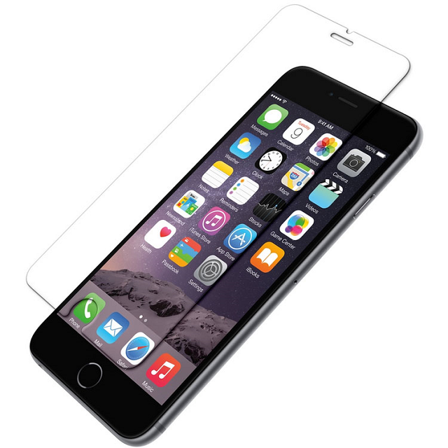 Apple iPhone 6S+/6+ Temper Glass Screen Protector