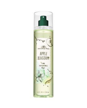 Bath and Body Works APPLE BLOSSOM Fine Fragrance Mist 8 Fluid Ounce (2019 Edition)