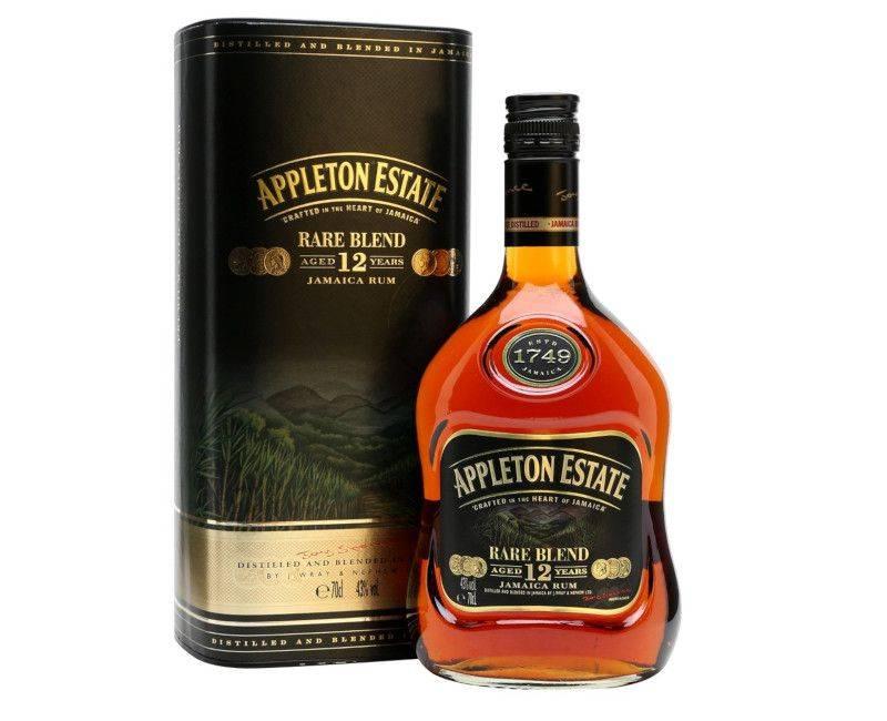 Appleton Estate Rare Blend Aged 12 Years Jamaican Rum 750ml