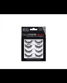 Ardell Faux Mink Wispies 4-Pack Eyelash