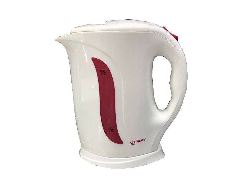 Starline Automatic KT-1705 Cordless 1.7 Liter Safety - Lid Kettle