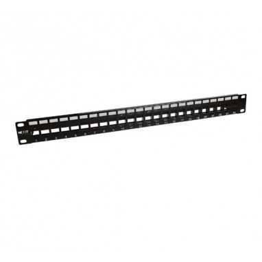 Nexxt Modular Patch Panel 24 port for RJ45 Keystone Jack