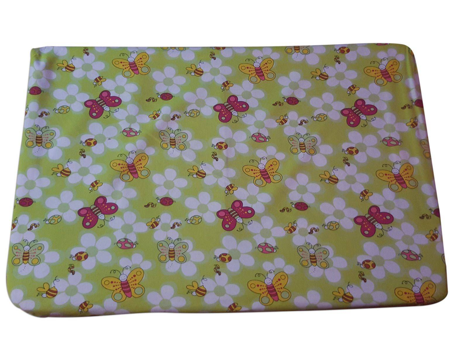 Printed Fitted Baby Crib Sheet