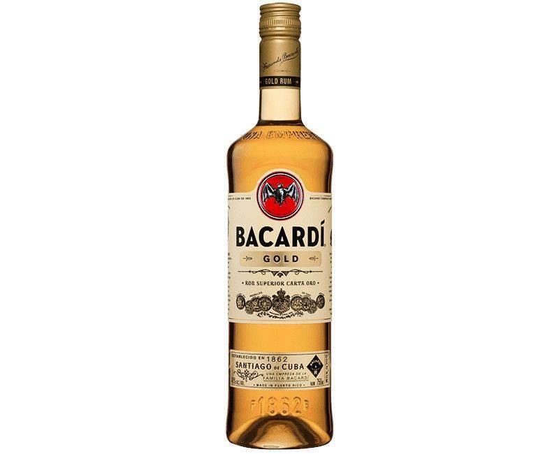 Bacardi Gold Ron Superior Carta Oro - 750ml