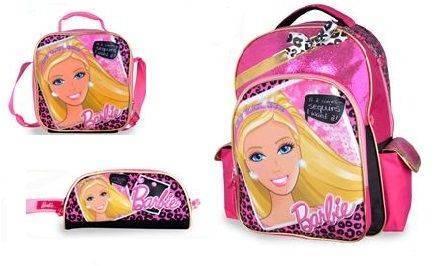 """Barbie Sequin 16"""" Backpack Set"""