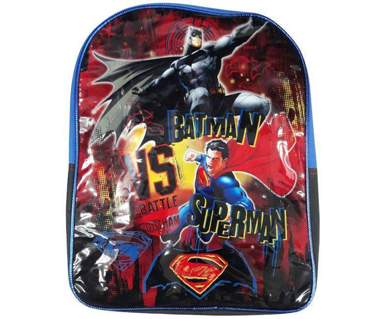 Batman Vs Superman Vinyl School Bag