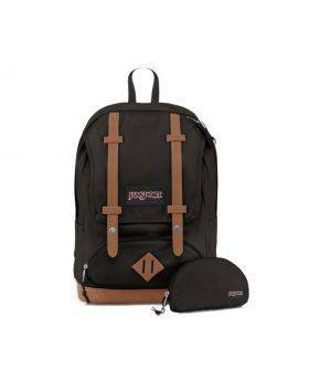 Jansport - Baughman  (Black Canvas) Backpack