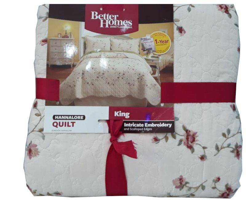 Better Homes and Garden Hannalore Quilt King