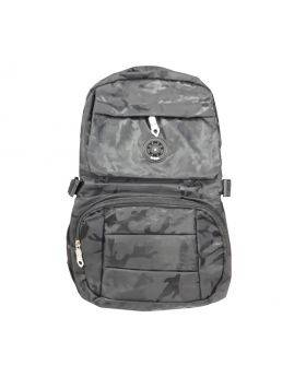 4 Colour Mix Sport Black School Bag