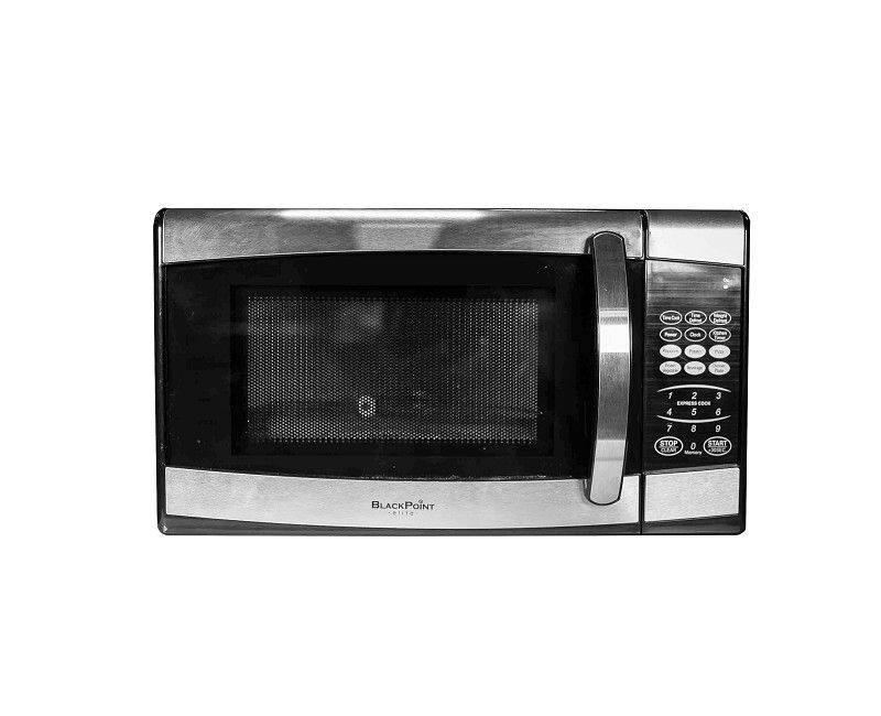 Front view of the Blackpoint 0.7 CB Elite Microwave