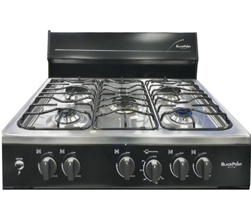 Blackpoint Stove 5 Burner Stove - Topview