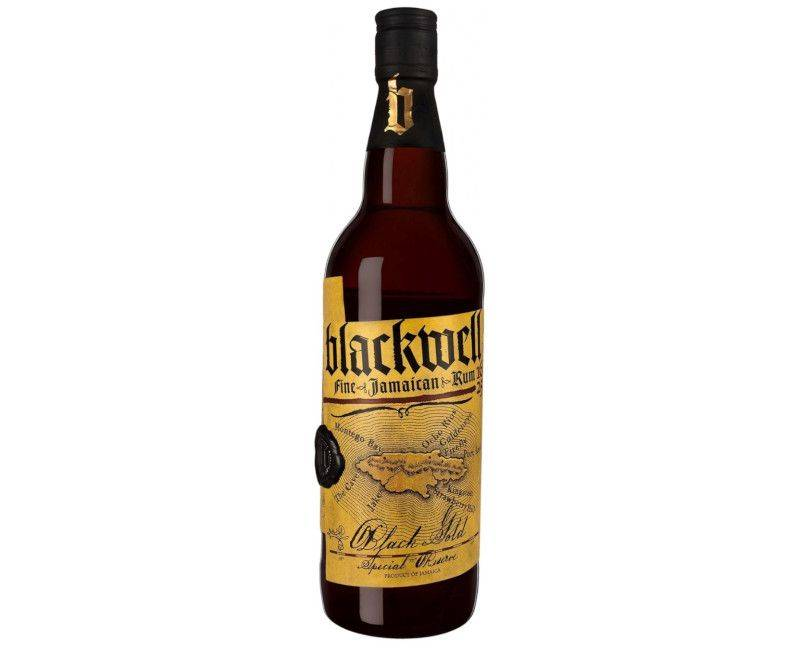 Blackwell Fine Jamaican Rum - Black Gold Special Reserve 750ml