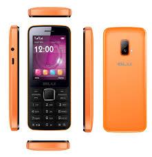 Blu Janet Dual-SIM Unlocked Cell Phone in Orange