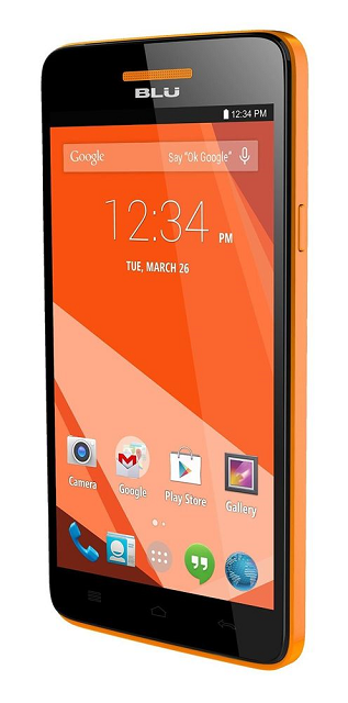 Blu Studio 5.0  C HD Dual Sim Phone (Orange)