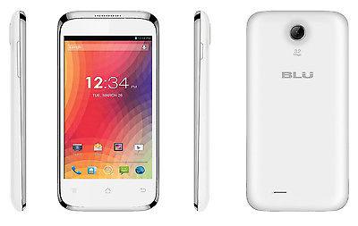 Blu Star 4.0 Cellphone (White)