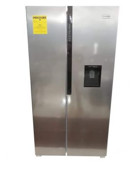 Black Star 26 Cu. ft. Side By Side Refrigerator