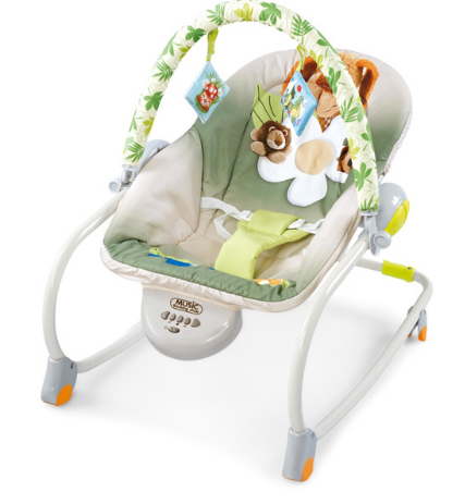 2-IN-1 Music Rocking Chair With 5 Beautiful Music