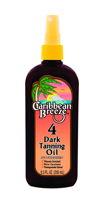 Caribbean Breeze SPF 4 Dark Tanning Oil