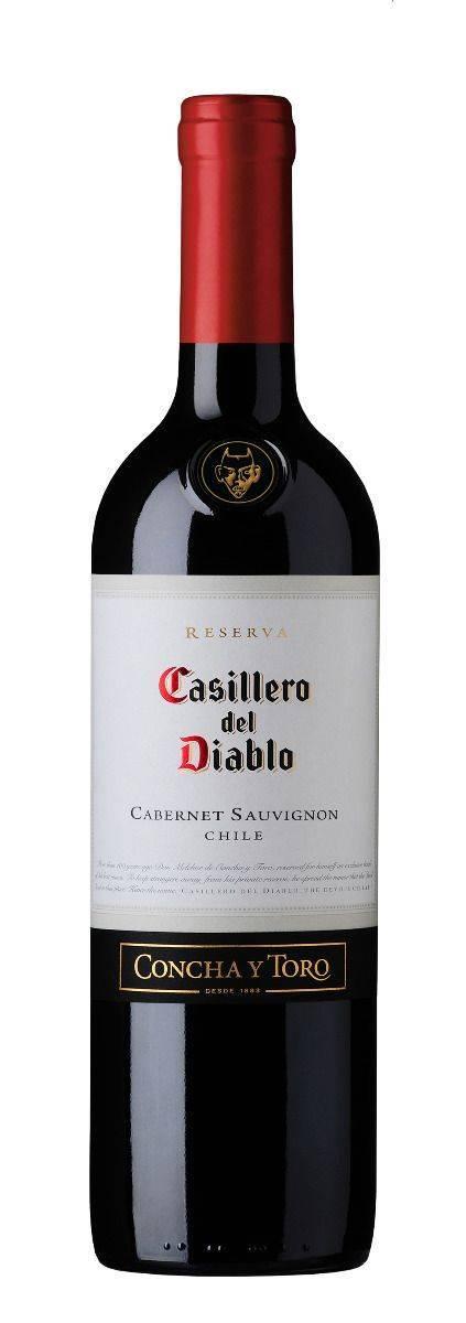 Casillero Del Diablo Cabernet Sauvignon, 750ml