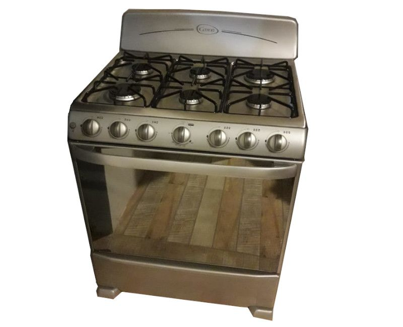 Cetron Stainless Steel (Silver) 6 Burner Stove