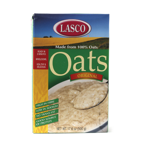 Lasco Oats Porridge Cereal 500 Grams