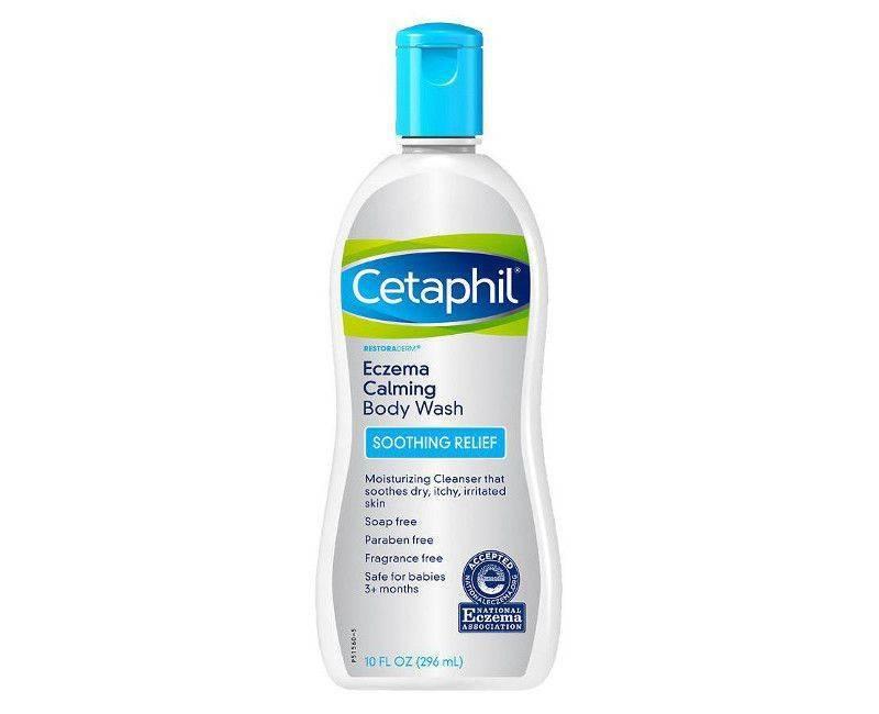 Cetaphil Eczema Soothing Relief Skin Calming Body Wash 10 Fl. Oz.