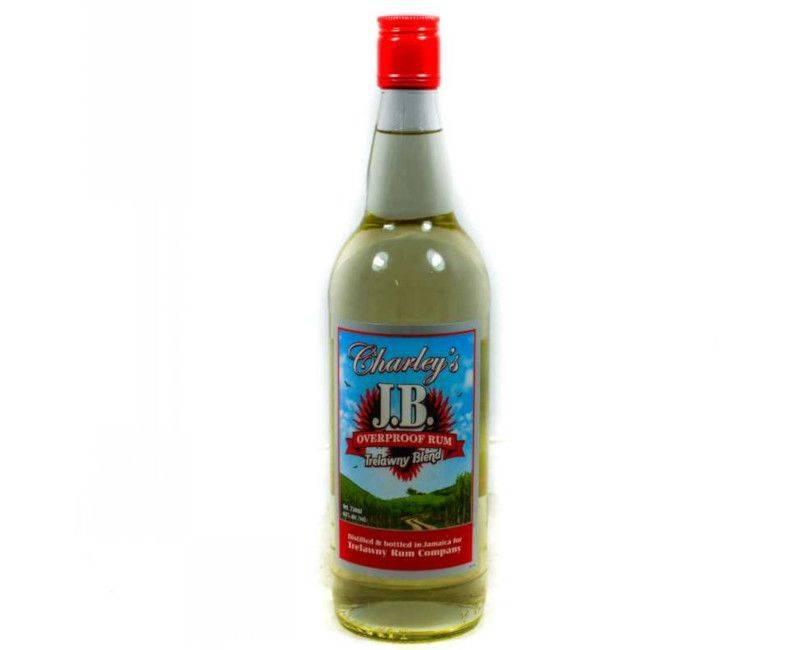 Charley's J.B. Overproof Trelawny Blend Jamaican Rum in 750 ml