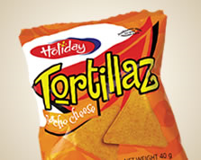 Holiday Tortillaz Nacho Chips 40 Grams - 12 Pack