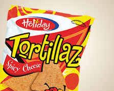 Holiday Tortillaz Spicy Chips 40 Grams - 12 Pack