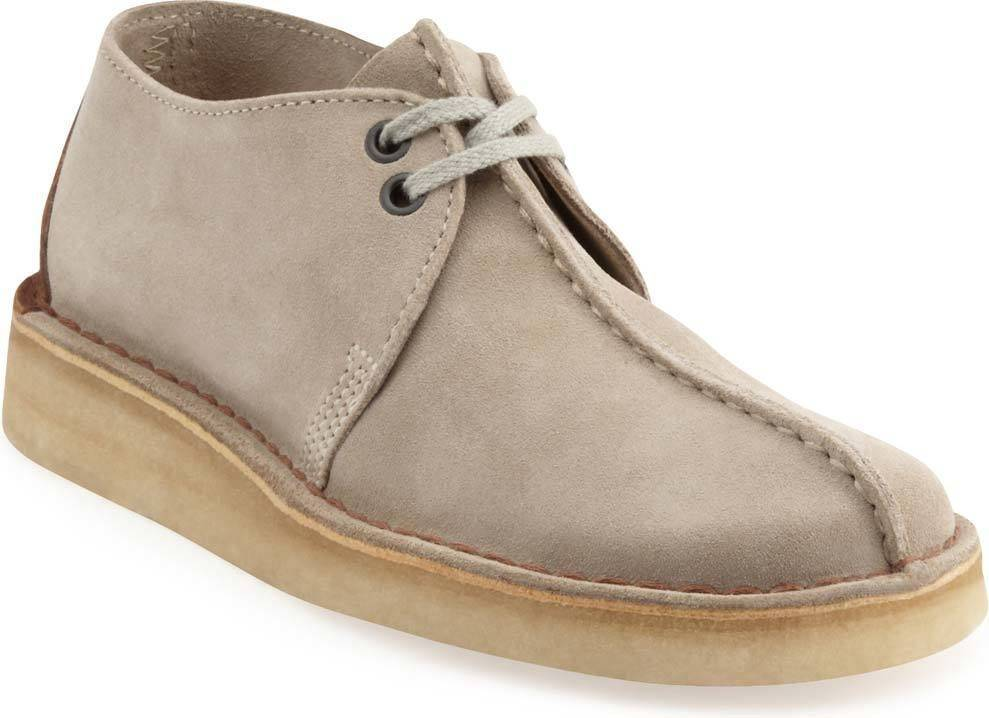Clarks Desert Trek Sand Suede Lace-up Shoe for Men-9.5