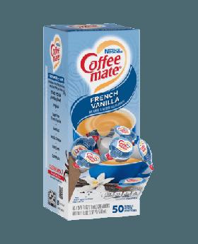 COFFEE-MATE French Vanilla Liquid 4 x 50 (Display Box)