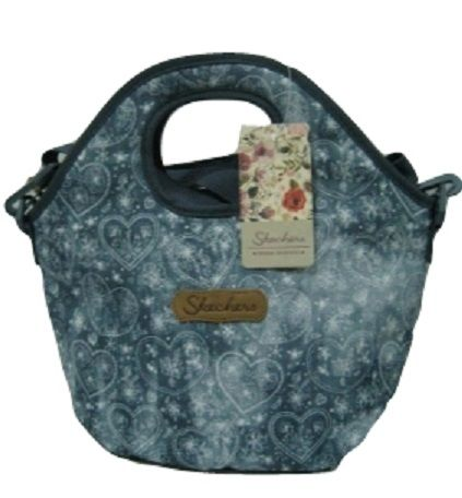 Skechers - Tote Denim Lunch Bag