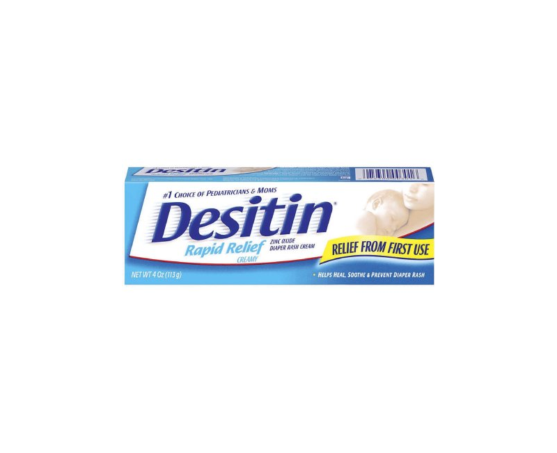 Desitin Rapid Relief Diaper Rash Cream 4 OZ.