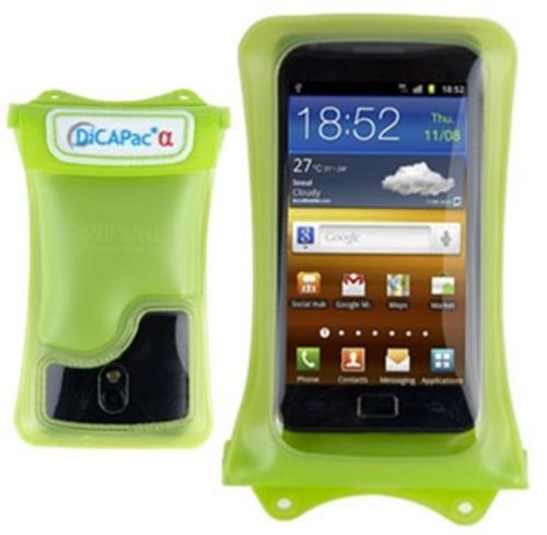 DiCaPac WP-C1 Waterproof Smartphone Case Green