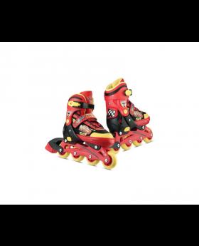 Disney Cars 2 Adjust Inline Skates Size 31 - 34 M