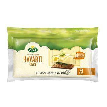 Arla Dofino Havarti Cheese Slices, 24 oz.