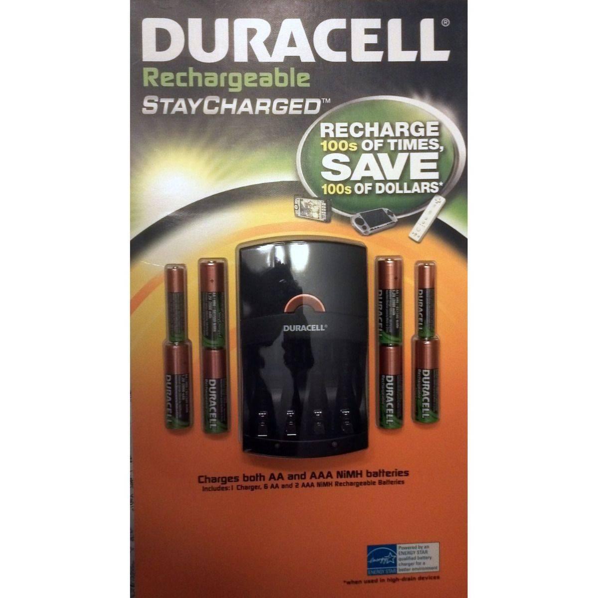 Duracell Recharge Set 6AA/2AAA