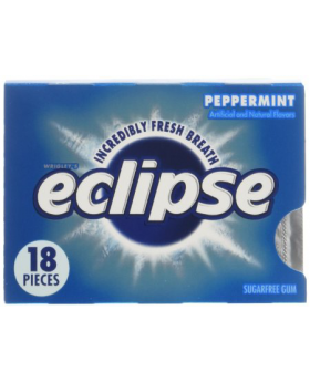 Eclipse Peppermint Chewing Gum