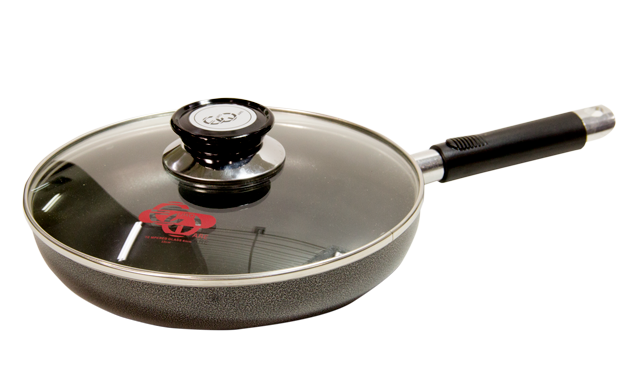 """Eware 9"""" Frying Pan with cover"""
