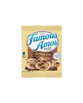 Famous Amos Chocolate Chip Cookies 56 g