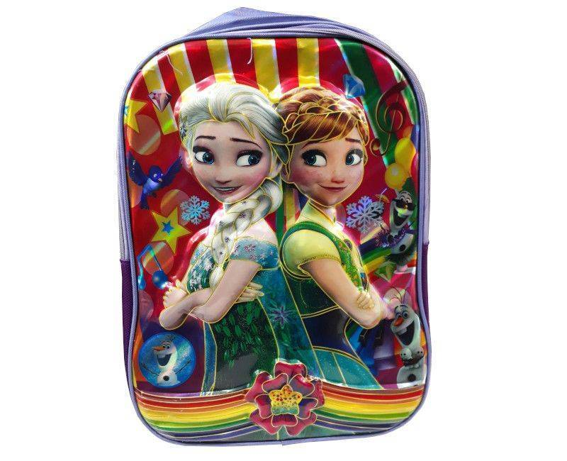 Disney Frozen Character Vinyl School Bag