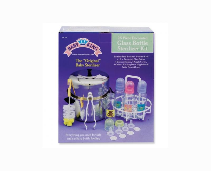 Glass Bottle 25 Piece Sterilizer Kit