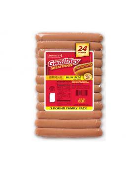 Gwaltney Chicken Hotdog 3lb